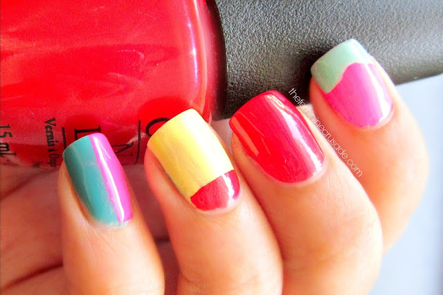 Mix n'Match Summer Manicure