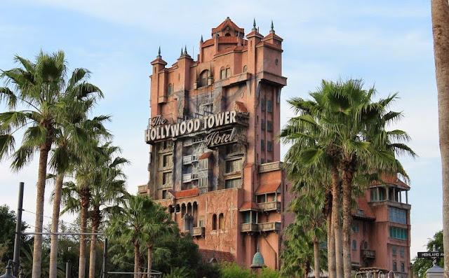 La Torre del Terror en Hollywood Studios en Disney