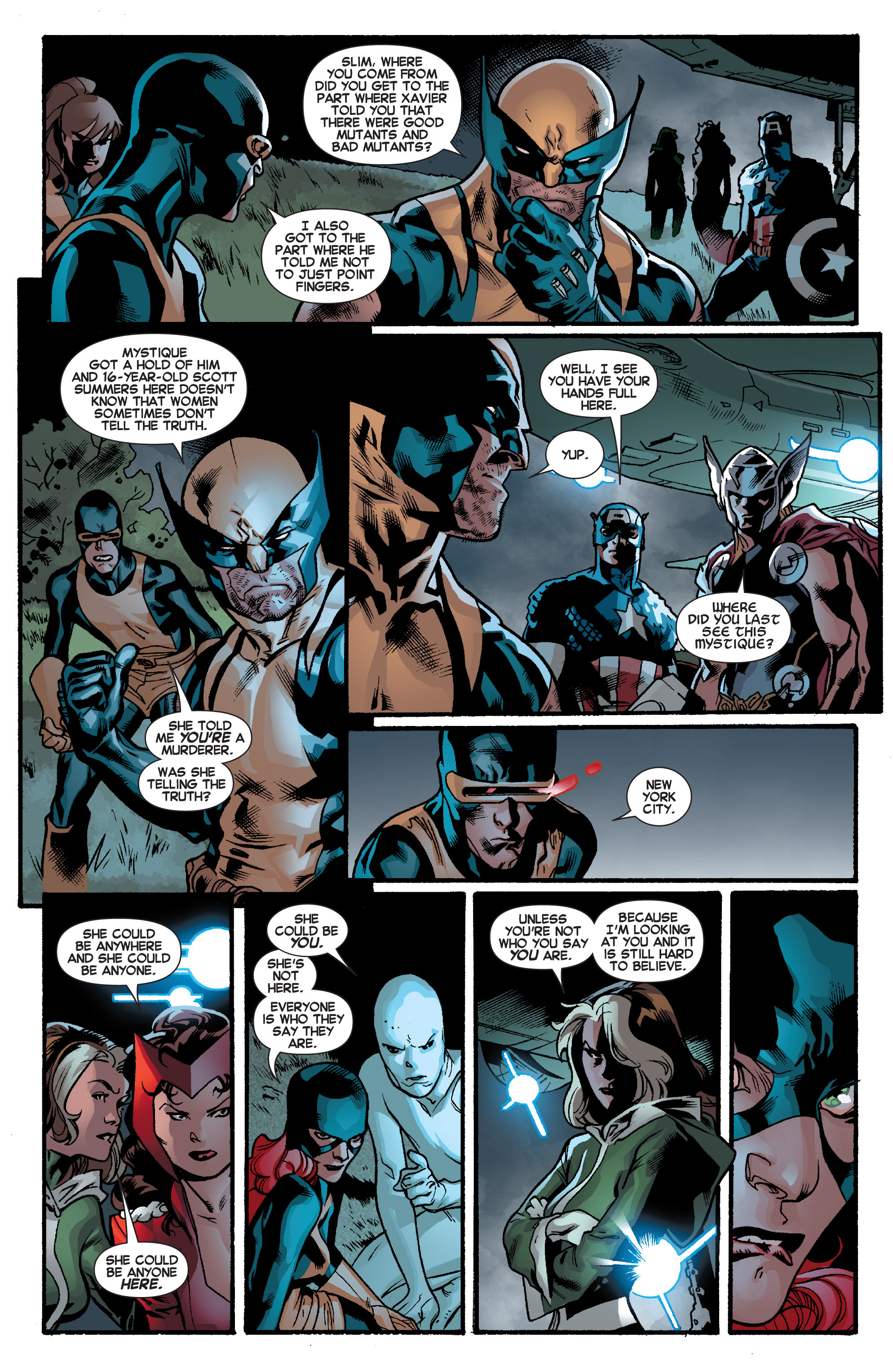 Read online All-New X-Men (2013) comic -  Issue # _Special - Out Of Their Depth - 42