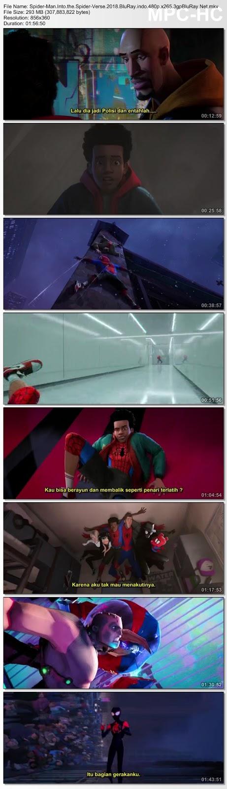 Screenshots Download Человек-паук: Через Вселенные (2018)
