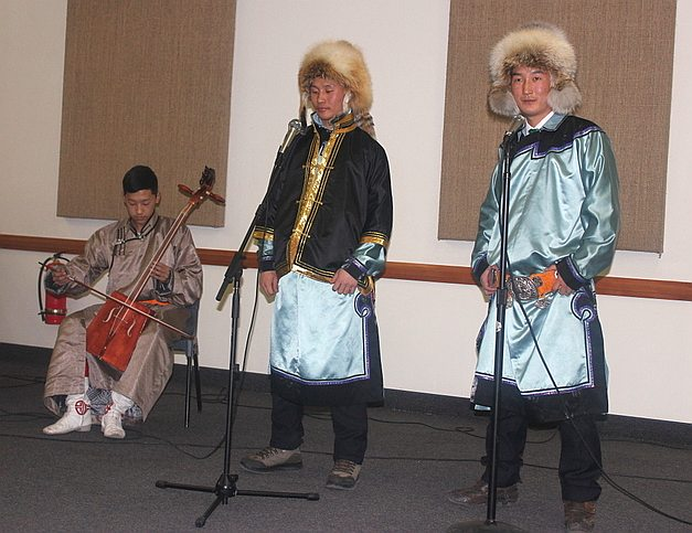 Musings in Mongolia: Missionary Talent Show