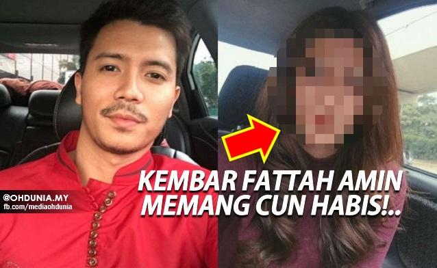 Inilah Wajah Kembar Fattah Amin Yang Jadi Viral, Memang Cun Habis!!