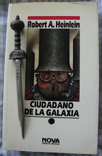 Portada del libro Ciudadano de la galaxia, de Robert A. Heinlein