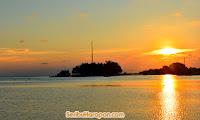 mentari pagi di pulau harapan