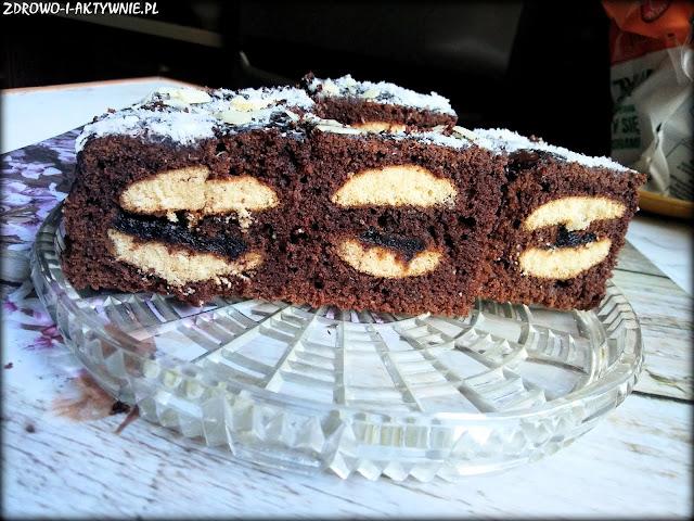 Ciasto usta murzynka
