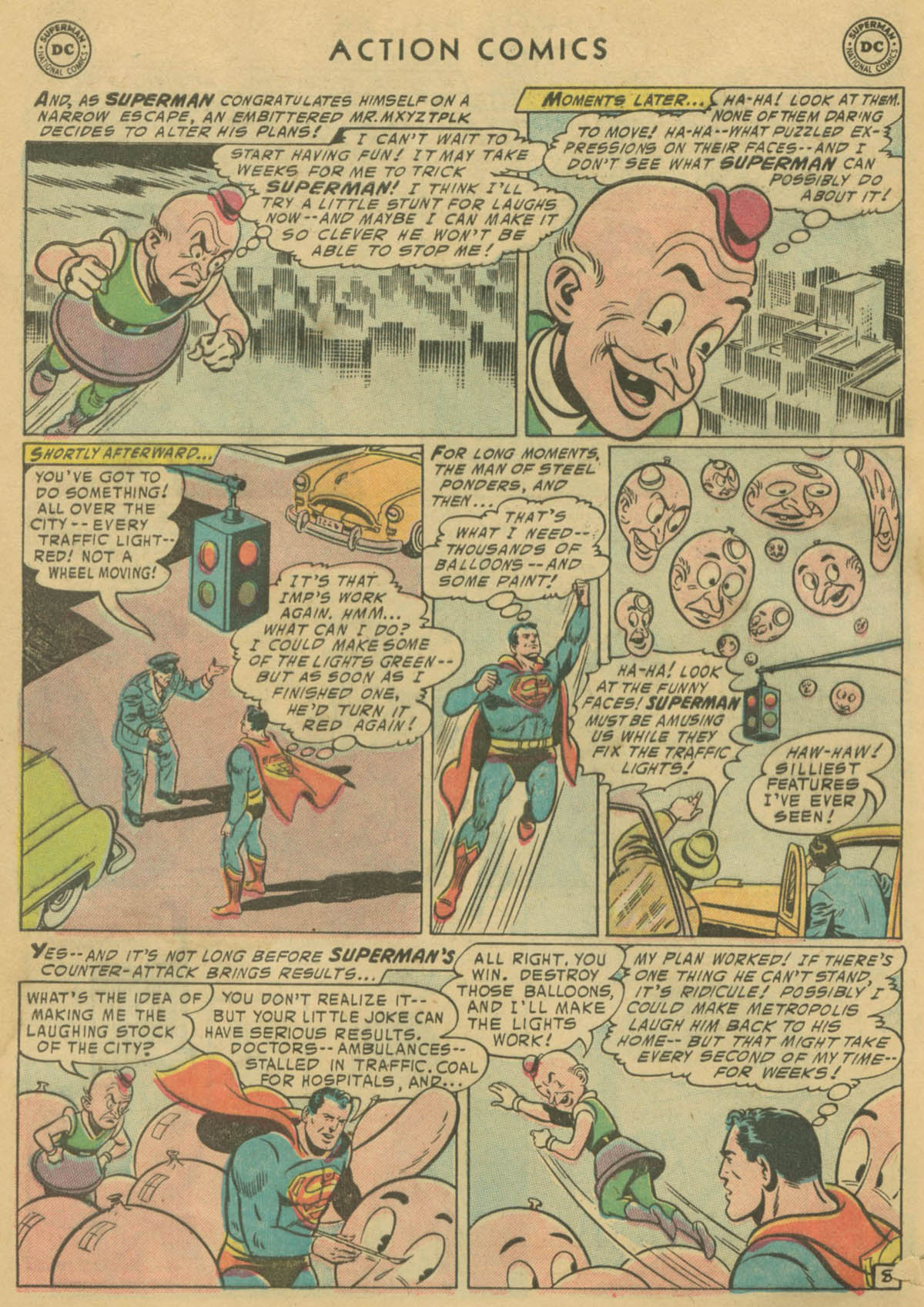 Read online Action Comics (1938) comic -  Issue #208 - 9