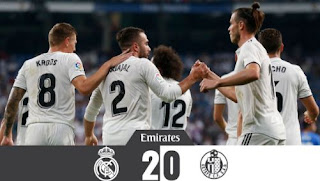Real Madrid vs Getafe 2-0 Video Gol Highlights