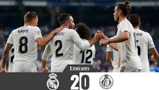Real Madrid vs Getafe 2-0 Video Gol Highlights