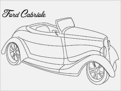 Ford Gabriole Coloring Pages
