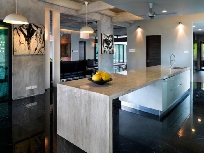 Hogares Frescos Casa Contempor Nea Combina Aspecto