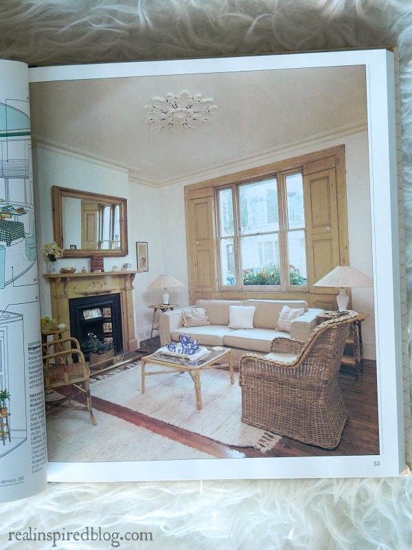 A humorous look back at decorating styles from the 1980's using Mary Gialliatt's, The Decorating Book, as the source material.  A period living room in neutrals.