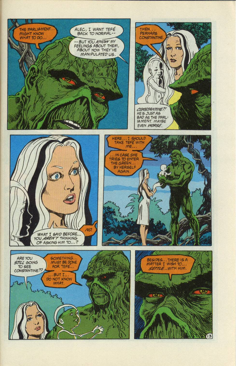 Swamp Thing (1982) Issue #99 #107 - English 14