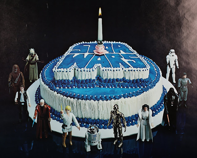 star wars 1st birthday poster