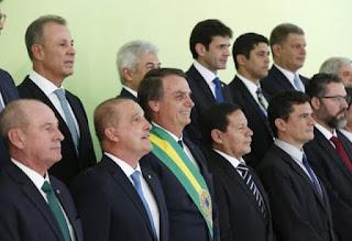 22 novos ministros de Estado