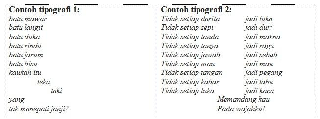 Pelajaran Bahasa Indonesia Puisi
