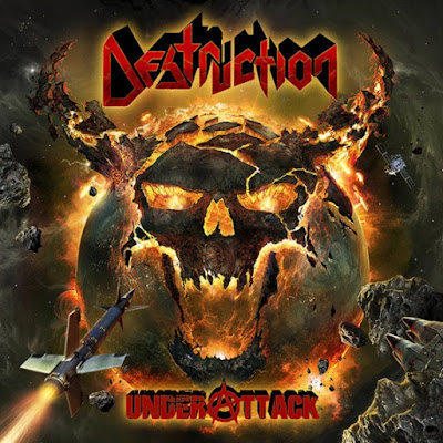 destruction - under attack - cover album - 2016