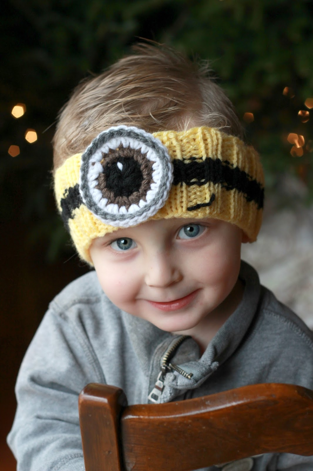 Minion Headband for Jethro | Grateful Prayer | Thankful Heart