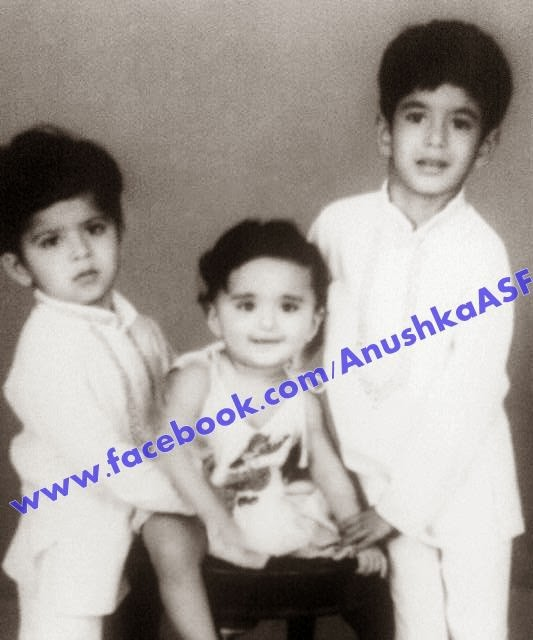 South Indian Actress Anushka Shetty Childhood Photos ...