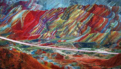 Pegunungan Pelangi