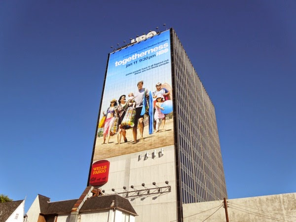 Giant Togetherness series launch billboard