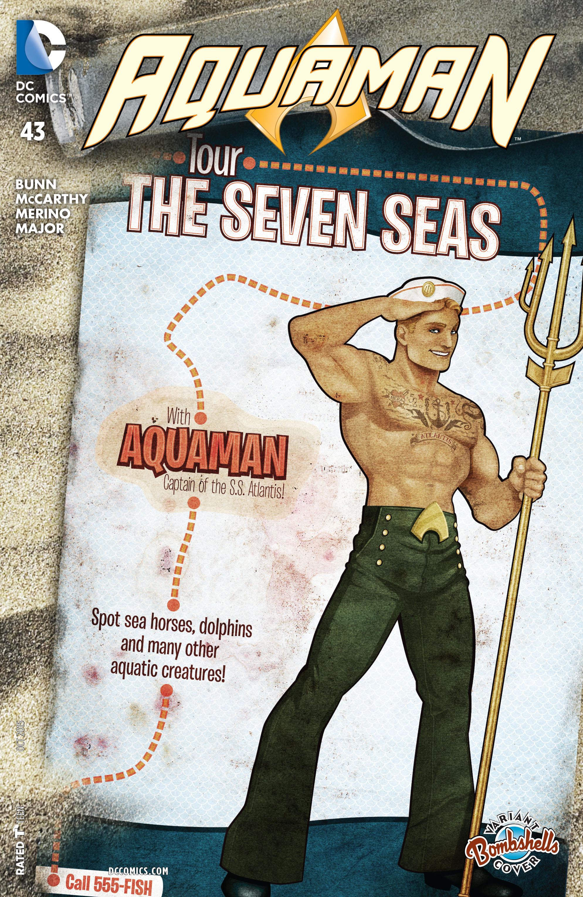 Read online Aquaman (2011) comic -  Issue #43 - 3