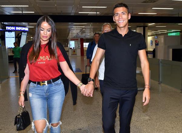 Hector Moreno dan Istri