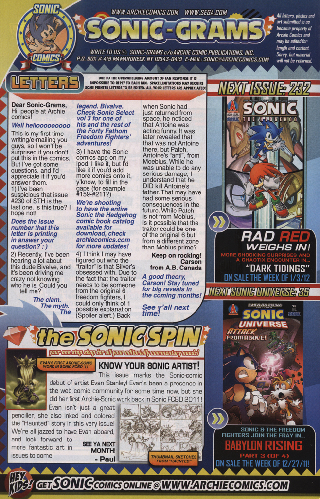 Read online Sonic The Hedgehog comic -  Issue #231 - 34