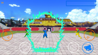 Game Dragon Ball Z Goku v1.0 Fighter