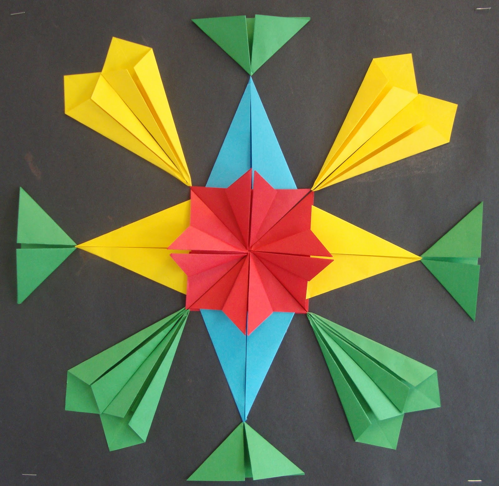 Simple Origami Butterfly Directions