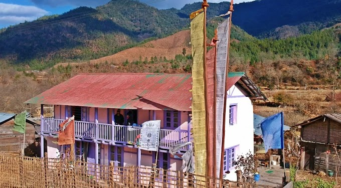 Red Berry Riverview Homestay by OK North East in Shergaon, near Rupa in Arunachal Pradesh