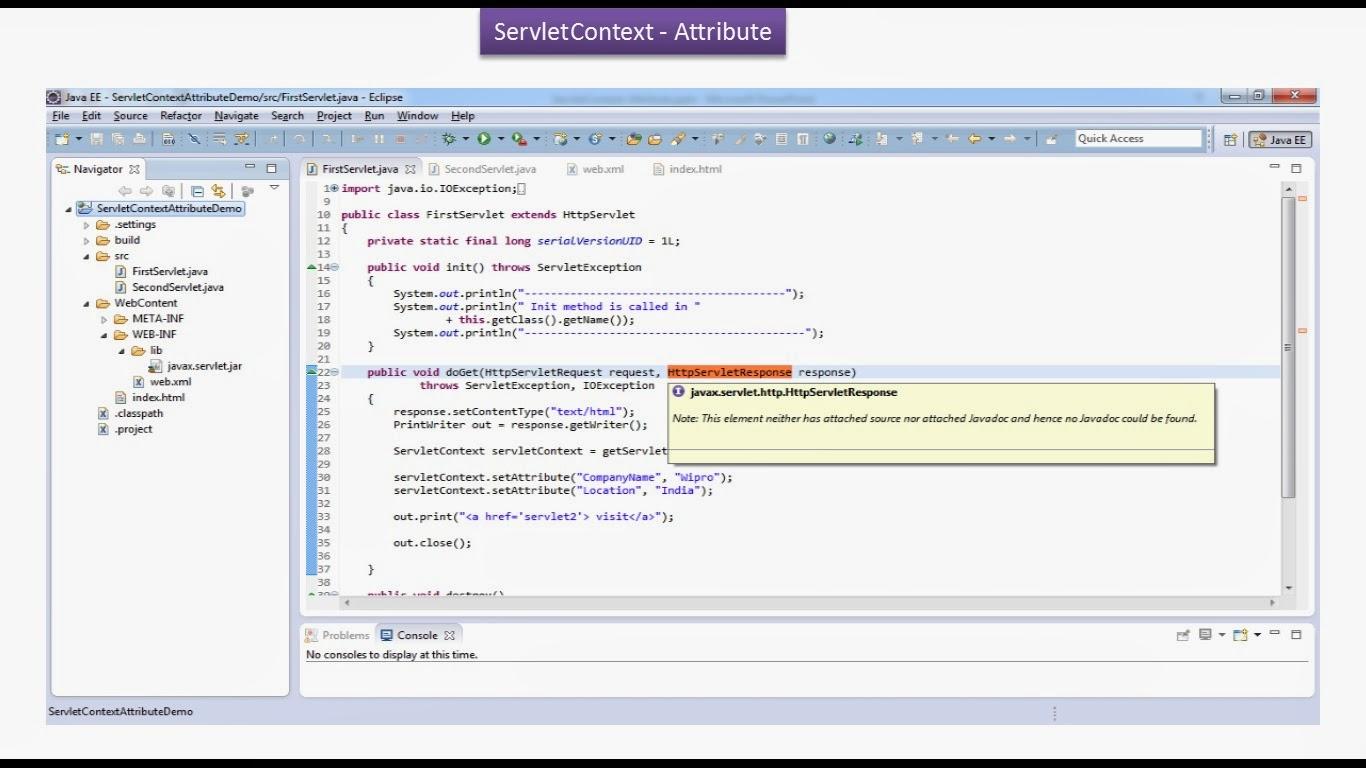 Java ee servlets servletcontext attribute demo servlets servletcontext attribute demo baditri Gallery