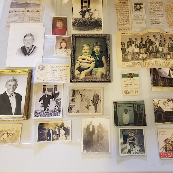 Brothers, David & Richard Furber, Make Large Donation of Family Items