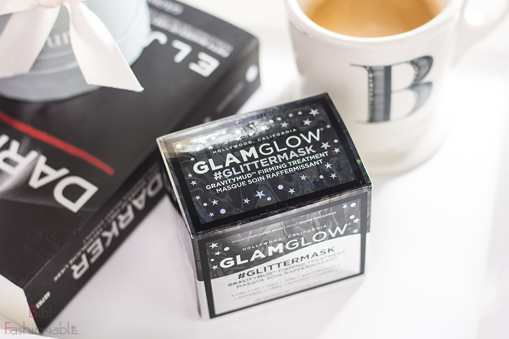 GlamGlow Glittermask Gravitymud Firming Treatment Umverpackung