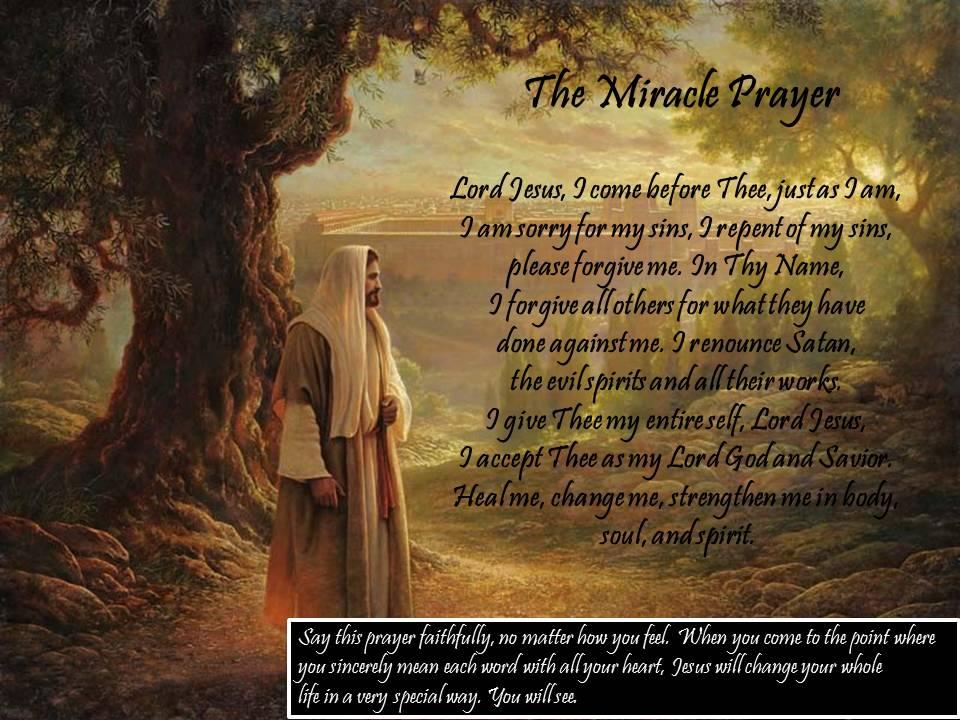 The Miracle Prayer ~ sample