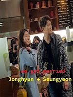 Cặp Đôi Mới Cưới: Lee Jonghyun & Seung Yeon