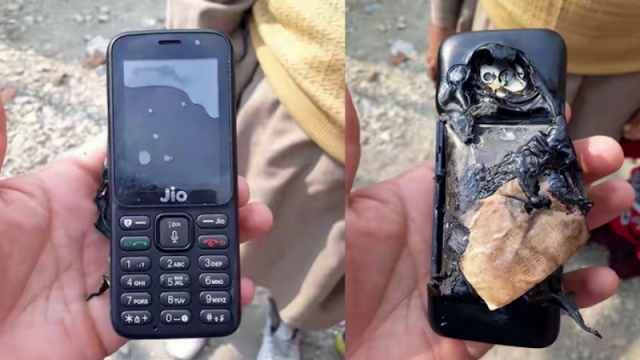 jio-phone-explodes-while-charging-in-kashmir