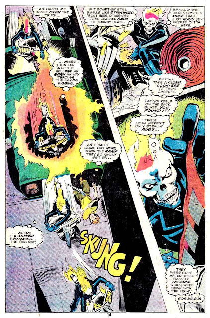 Daredevil v1 #138 marvel comic book page art by John Byrne