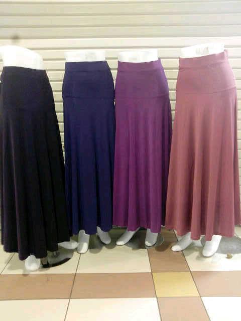 Model Rok Panjang Polos Untuk Wanita Gemuk