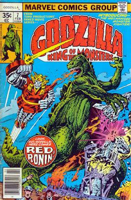 Godzilla #7, Red Ronin