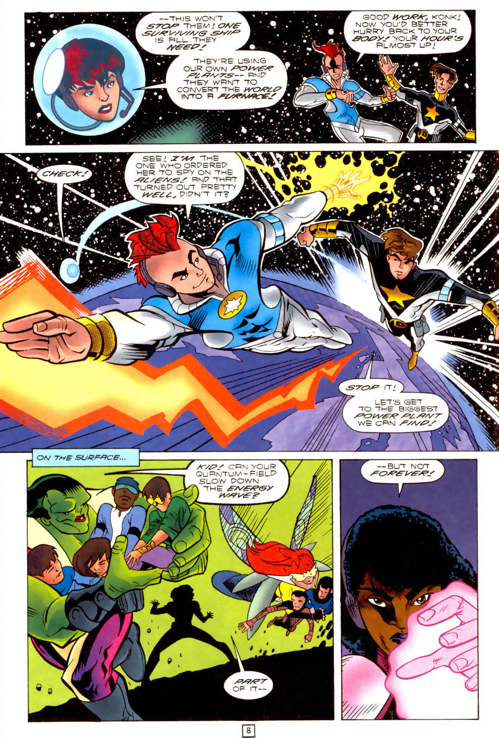 Legion of Super-Heroes (1989) 102 Page 8