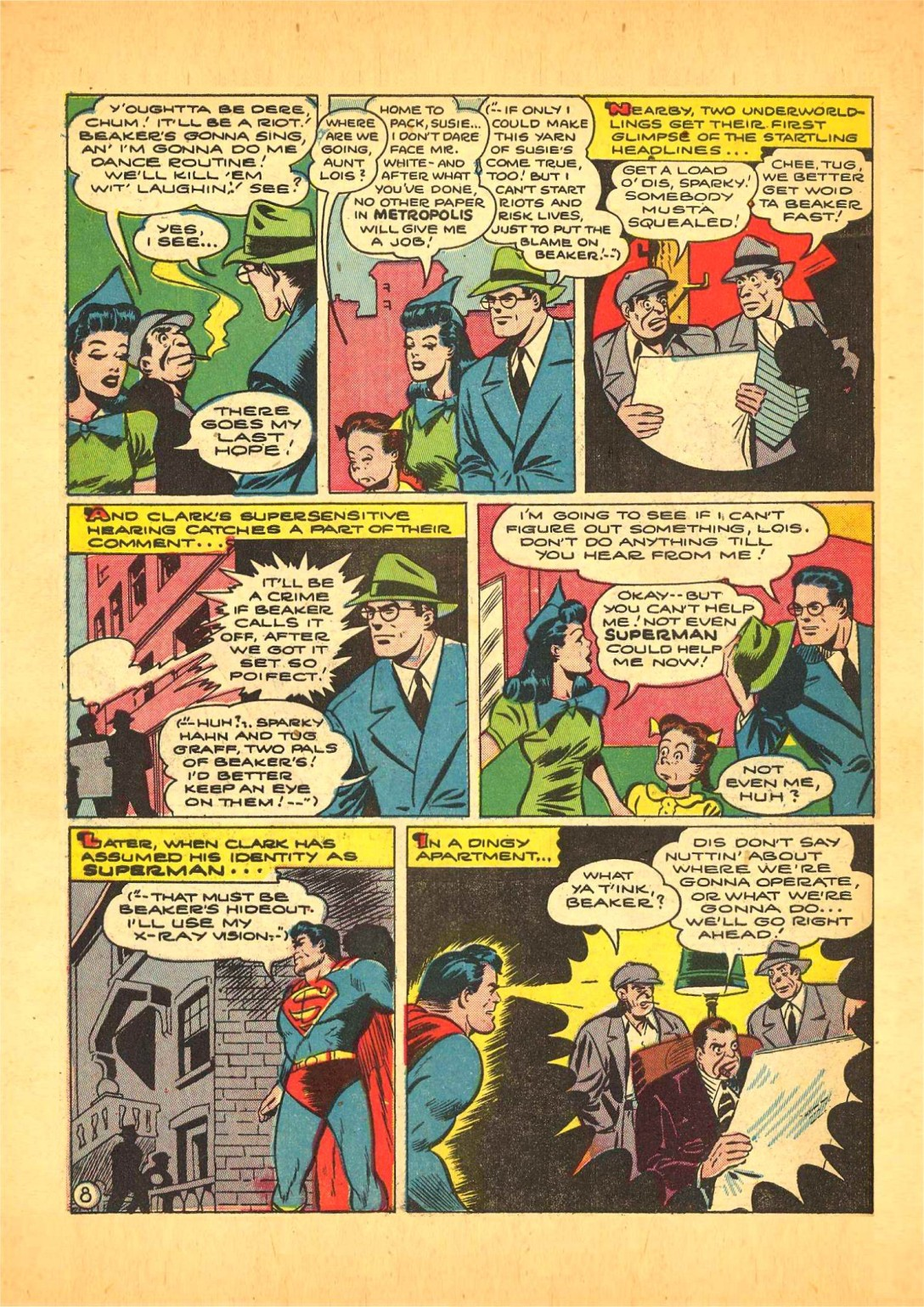 Read online Action Comics (1938) comic -  Issue #68 - 9