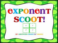 https://www.teacherspayteachers.com/Product/Exponent-Scoot-Freebie-1481700
