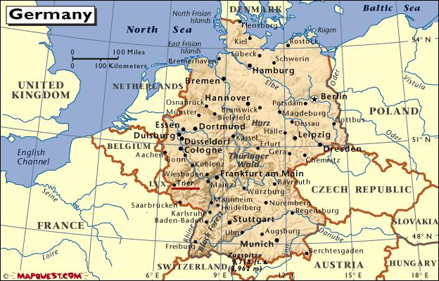 Village Life in Kreis Saarburg Germany Does Anyone Have a Map