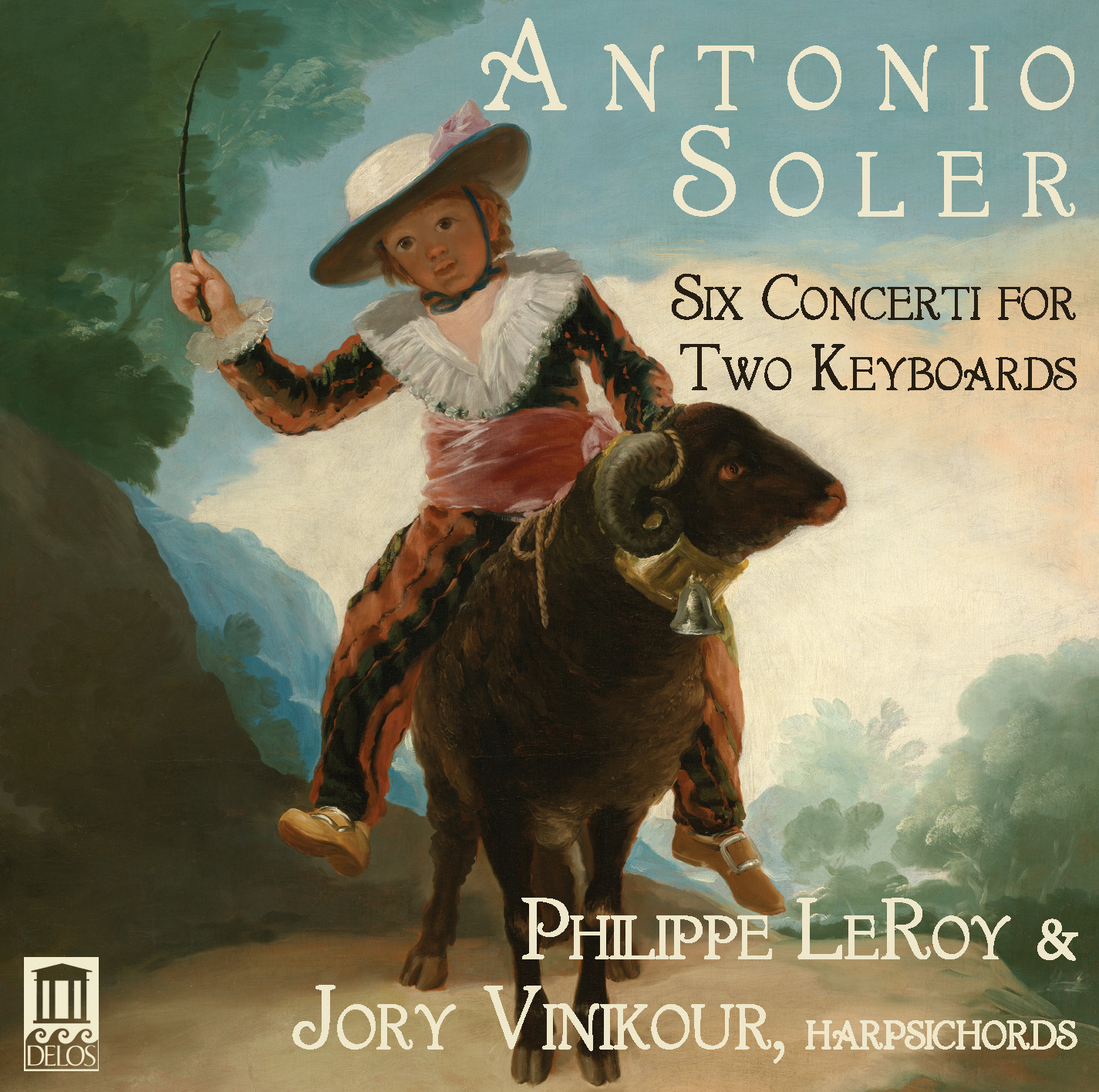 IN REVIEW: Padre Antonio Soler - SIX CONCERTI FOR TWO KEYBOARDS (Delos DE 3491)
