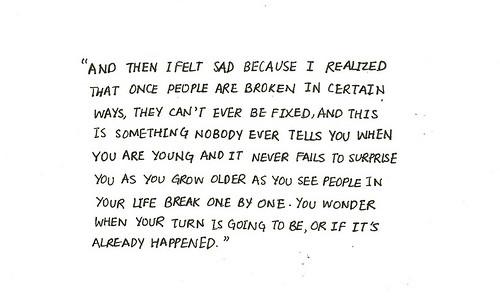 I M Broken Quotes Tumblr: Tumblr Quotes Broken