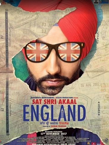 Ammy Virk, Monica Gill, Punjabi movie Sat Shri Akaal England 2017 wiki, full star-cast, Release date, Actor, actress, Song name, photo, poster, trailer, wallpaper