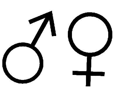 Frauen Männer Zeichen