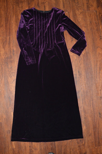Womens Vintage K.C. Spenser Dress  ~ Sz 10 ~ Purple