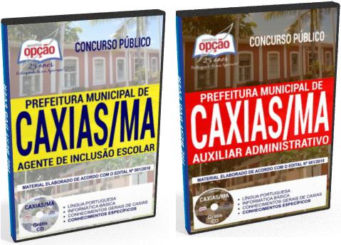 Apostila da Prefeitura de Caxias 2018 Agente de Inclusão Escolar