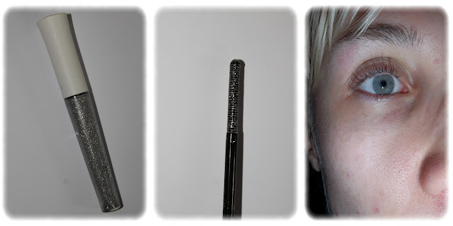 Swatch Mascara Pailleté Teinte Silver - elf
